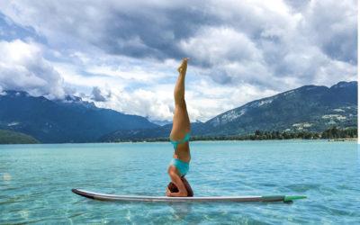 j'ai testé le paddle-yoga