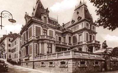 urbanisme au passé – évian l'hôtel de ville –