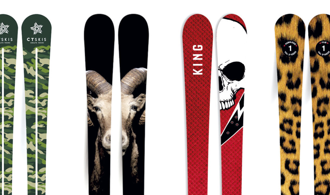 Skis personnalisés avec ctskis