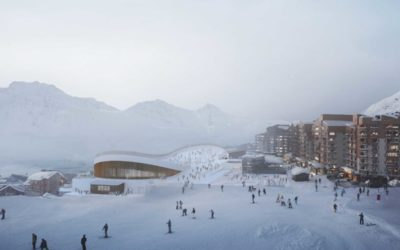 en chantier : Val-Thorens
