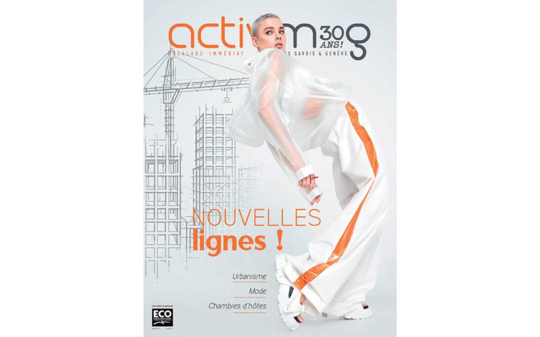 Nouvelles lignes : votre magazine ActivMag Avril 2021